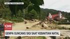 VIDEO: Gempa Guncang Sigi Saat Kebaktian Natal