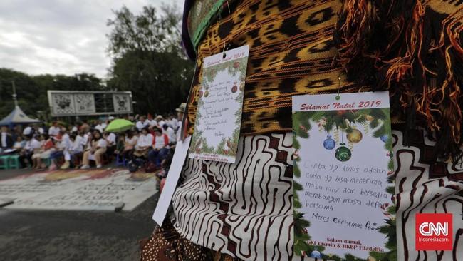 Pemkot Bogor dianggap membiarkan kelompok intoleran yang tak menghendaki IMB pendirian GKI Yasmin.(CNN Indonesia/Adhi Wicaksono)