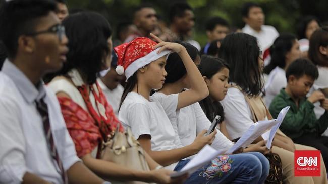 Pembangunan rumah ibadah jamaat GKI Yasmin Bogor dan HKBP Filadelfia Bekasi belum mendapatkan kejelasan. Sejak 2008 pendiriannya terus dilempartanggung jawabnyake sini kemari oleh pemerintah.(CNN Indonesia/Adhi Wicaksono)
