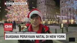 VIDEO: Suasana Perayaan Natal di New York