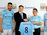 Wow, Biaya Fantastis Sponsorship Jiwasraya ke Manchester City