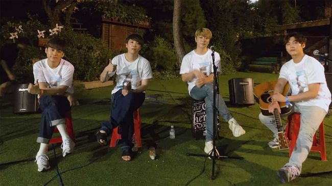 Salam Perpisahan Member FTISLAND untuk Song Seung Hyun