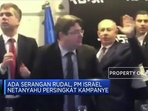 Ada Serangan Rudal, PM Netanyahu Persingkat Kampanye