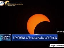Penampakan Gerhana Matahari Cincin di Thailand dan Singapura
