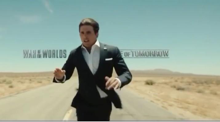 Dalam video tersebut Tom Cruise mengatakan ia akan mencalonkan diri sebagai presiden di 2020.