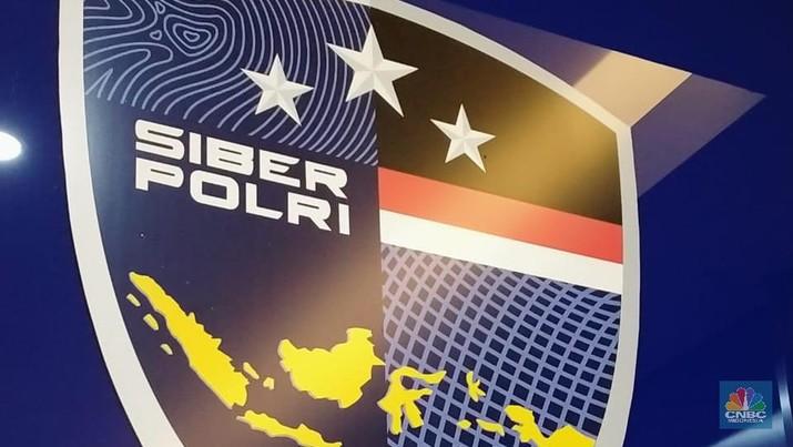 Siber Polri (CNBC Indonesia/Herdaru Purnomo)