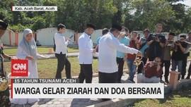 VIDEO: 15 Tahun Tsunami Aceh, Warga Gelar Doa Bersama