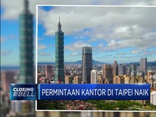 Permintaan Kantor di Taipei Naik