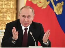 Vladimir Putin 'Presiden Abadi' Rusia