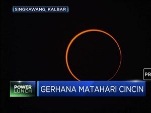 Ini Detik-Detik Fenomena Gerhana Matahari Cincin
