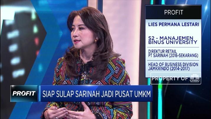 Streaming! Upaya Sarinah Menjai Pusat Pengembangan UMKM