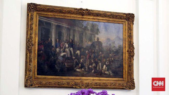 Lukisan Diponegoro dan Obsesi Kepahlawanan Presiden Jokowi