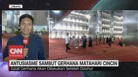 VIDEO: Salat Gerhana di Masjid Istiqlal Jakarta