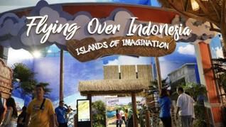 Liburan Asyik 'Flying Over' Nusantara di Trans Studio Bali