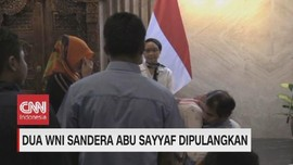 VIDEO: Dua WNI Sandera Abu Sayyaf Dipulangkan