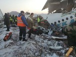 Baru Take Off, Pesawat dengan 95 Penumpang Jatuh!