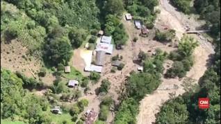 VIDEO: Banjir di Kolombia, Delapan Orang Hilang