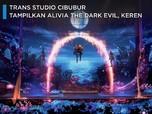 Trans Studio Cibubur Tampilkan Alivia The Dark Evil, Keren