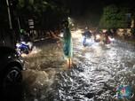 Melihat Genangan Air di Utara Jakarta yang Dipicu Hujan Deras