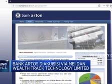 Resmi Diakuisisi, Saham Bank Artos Melesat 24,77%