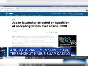 Anggota Parlemen Shinzo Abe Tersangkut Kasus Suap Kasino