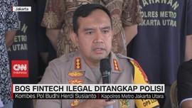 VIDEO: Bos Fintech Ilegal Ditangkap Polisi di Batam