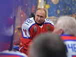 Intip Gaya Presiden Rusia Putin Main Hoki Habiskan Natal