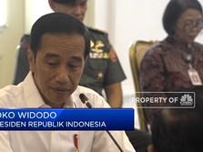 Pesan Jokowi di Ratas RUU Omnibus Law Cipta Lapangan Kerja