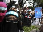 Aksi Bela Uighur, Massa 'Kepung' Kedubes China