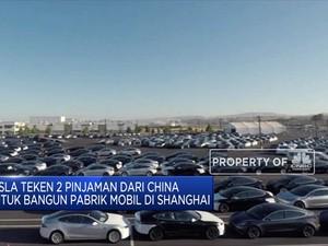 Mau Bikin Pabrik di Shanghai, Tesla Diguyur Utang dari China