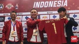 Pemain Harap Tae Yong Sulap Indonesia Seperti Korea Selatan