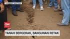 VIDEO: Tanah Bergerak di Trenggalek, Bangunan Retak