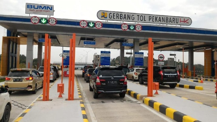 H+3 Natal, Volume Lalin di Tol Trans Sumatera Masih Meningkat