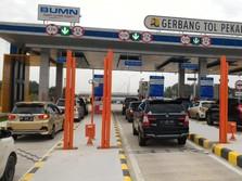 H+3 Natal, 830 Ribu Kendaraan Lintasi Tol Trans Sumatera