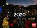Hujan Reda, Rhoma Irama Awali Pesta Tahun Baru Jakarta