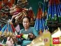 FOTO: Asa Pedagang Terompet Tahun Baru