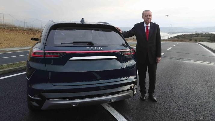 Top! Mimpi Erdogan Jadi Nyata, Turki Kini Punya Mobil Listrik