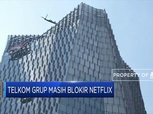 Netflix Masih Diblokir Telkom Grup
