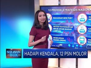 Hadapi Kendala, 12 PSN Molor