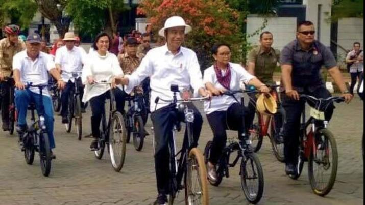 Presiden Joko Widodo diketahui kini tengah berada di kawasan Semarang.