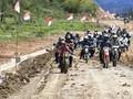Penyebab Motor Custom Jokowi Tergelincir di Jalan Becek
