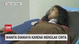 VIDEO: Wanita Ditikam Senjata Tajam Karena Menolak Cinta
