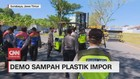 VIDEO: Demo Sampah Plastik Impor