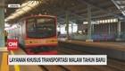 VIDEO: Layanan Khusus KRL & Transjakarta di Malam Tahun Baru