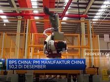 Josss. PMI Manufaktur China Kembali Tembus 50