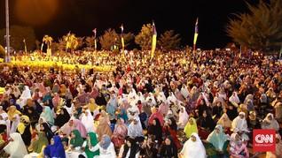 Ribuan Warga Ternate Doa Bersama Sambut Tahun Baru