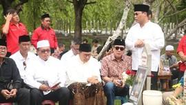 PDIP Ziarah Makam Taufiq Kiemas, Megawati Tidak Ikut
