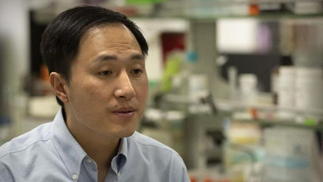 Edit Gen Bayi Kembar, Ilmuwan China Divonis Penjara 3 Tahun