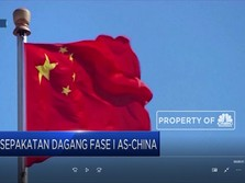 Siap-siap! Pekan Depan AS-China Teken Deal Dagang Fase I
