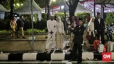 Nikah massal diikuti olehsebanyak 633 pasang, terdiri atas pernikahan baru 143 pasang dan 490 pasang untuk itsbat nikah. (CNN Indonesia/Adhi Wicaksono).